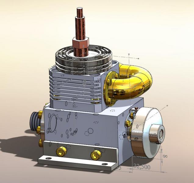 Как сделать двигатель внутреннего сгорания своими руками 178